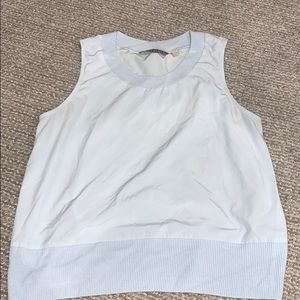 athleta light blue tank